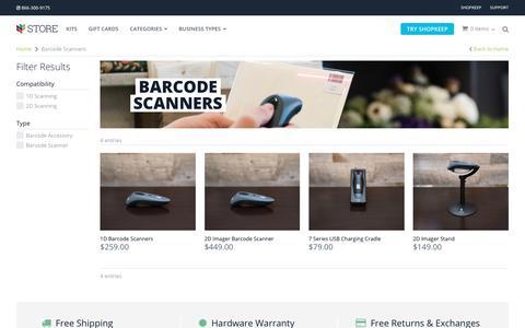 POS Barcode Scanners | iPad POS Hardware | ShopKeep Store