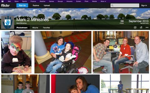 Screenshot of Flickr Page flickr.com - Flickr: Mark2Ministries' Photostream - captured Oct. 23, 2014