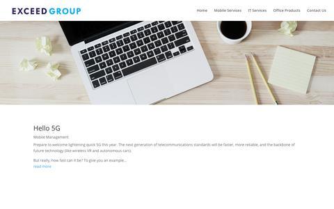 Screenshot of Blog goexceed.com - Blog | Exceed Group - captured Feb. 14, 2018