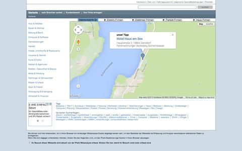 Screenshot of Home Page firmeninfo-oder-spree.de - Firmeninfo Oder Spree - captured June 20, 2015