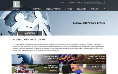 Global Corporate Giving