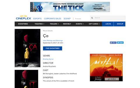 Cineplex.com | Ça