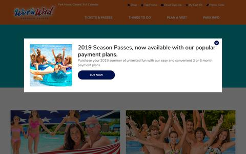 Screenshot of Press Page emeraldpointe.com - In The News | Wet'n Wild - captured Oct. 18, 2018