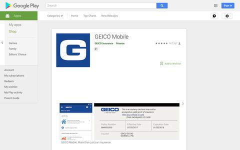 GEICO Mobile - Apps on Google Play