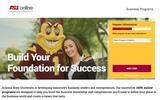 New Landing Page Arizona State University