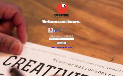 Screenshot of Press Page creativenestlings.com - Creative Nestlings - captured Sept. 30, 2014