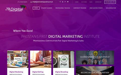 Digital Marketing Training in Karachi Pakistan-Dubai,UAE,India|Online Digital Marketing Training|SEO Training|Digital Marketing Academy| Digital Marketing Course|Digital Marketing Institute| DMA.