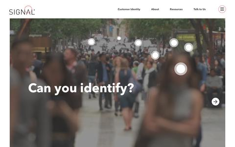Homepage - Signal