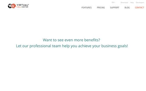 Screenshot of Contact Page virtual-call-center.eu - Contact Us - captured July 3, 2015