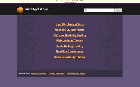 Usabilitypress.com