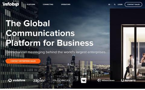 The Global Communications Platform for Business | Infobip