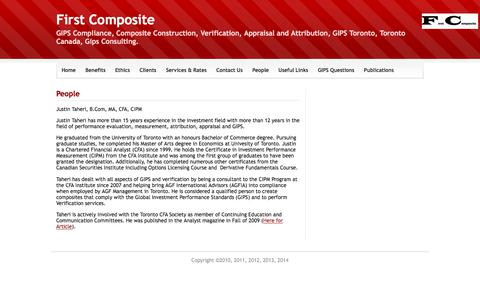 Screenshot of Team Page firstcomposite.com - People - First Composite - captured Aug. 13, 2018