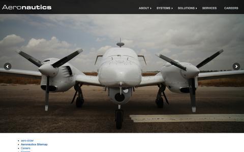 Screenshot of Site Map Page aeronautics-sys.com - Aeronautics Ltd. | Sitemap - captured Oct. 7, 2017