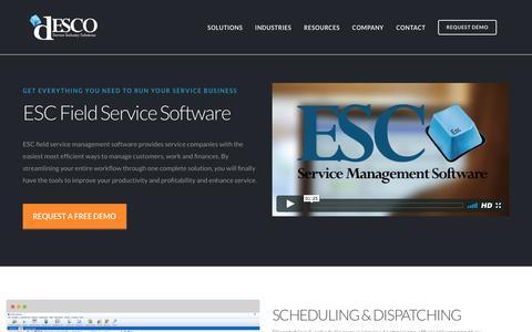 ESC Field Service Management Software | dESCO-Soft