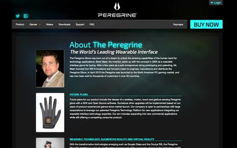 Screenshot of About Page theperegrine.com - About Us | The Peregrine - captured Nov. 3, 2014