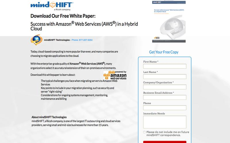 Success with Amazon® Web Services (AWS®) in a Hybrid Cloud