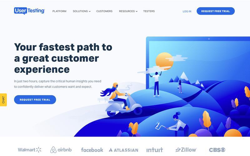 Screenshot UserTesting | User Experience Research Platform