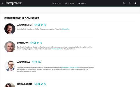 Screenshot of entrepreneur.com - Entrepreneur.com Staff - captured Aug. 19, 2017