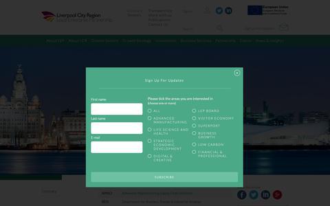 Screenshot of FAQ Page liverpoollep.org - Glossary - Liverpool Enterprise Partnership - captured Sept. 29, 2018