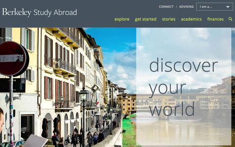 Welcome | UCB Study Abroad