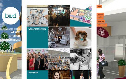 Screenshot of Home Page creativeinterpreters.com - Babes Who Design | we are interior architects - captured April 14, 2016