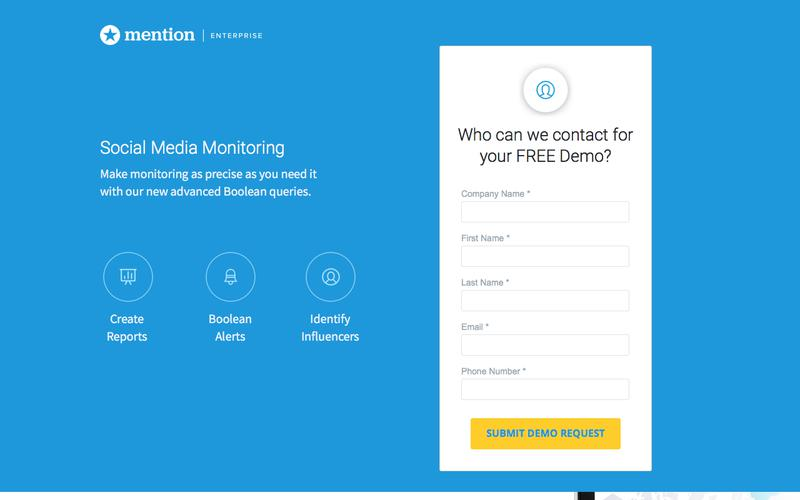 Enterprise | Mention: Media Monitoring made Simple
