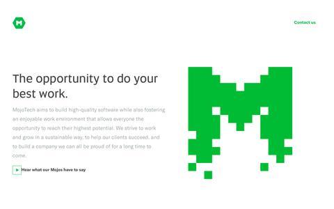 Jobs software developer designer | MojoTech web and mobile application development and design
