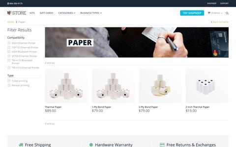 POS Paper & Supplies | iPad POS Hardware | ShopKeep Store