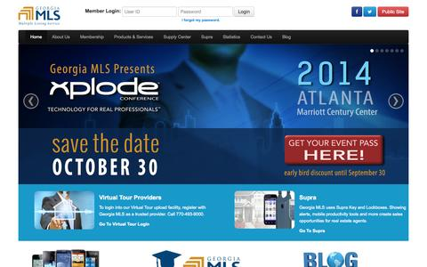 Screenshot of Home Page gamls.com - Gamls.com - captured Sept. 19, 2014