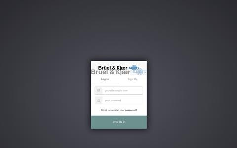 Screenshot of Case Studies Page bksv.com - Sign In with Auth0 - captured Sept. 28, 2019