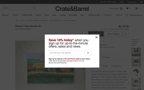 Places I Have Known XI   Crate and Barrel