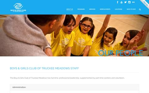 Screenshot of Team Page bgctm.org - Boys & Girls Club   –  Our People - captured Feb. 8, 2016