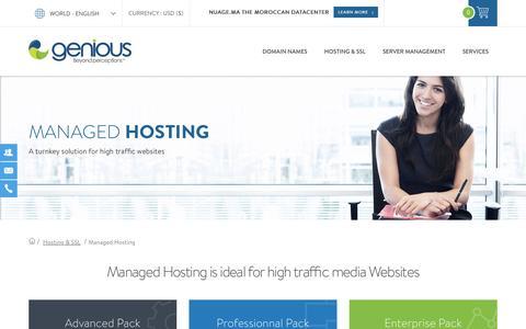 Managed Hosting | Genious World