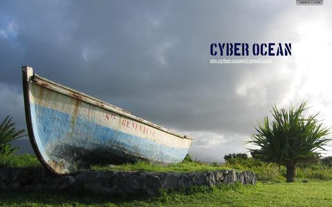 Screenshot of Home Page cyber-ocean.com - Cyber Ocean - captured Dec. 14, 2015