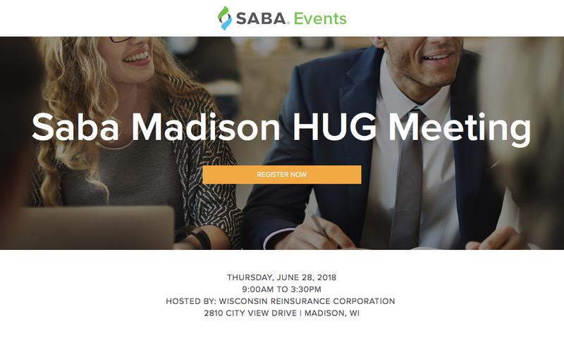 Saba Madison HUG Meeting