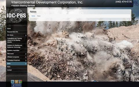 Screenshot of Press Page idc-pbs.com - News |  When it comes to Montville Discover What's Possible with Intercontinental Development Corporation, Inc. | Intercontinental Development Corporation, Inc. - captured Oct. 7, 2017