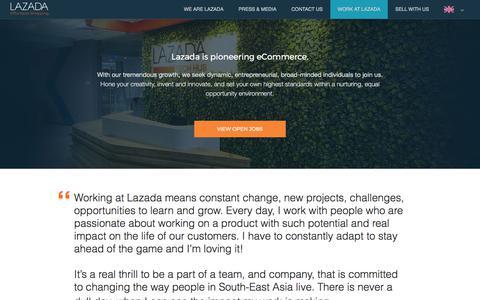 Work at lazada (EN) | lazadacom
