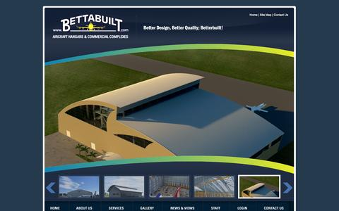 Screenshot of Site Map Page bettabuilt.com - Industrial Constructions & Commercial Complexes   Bettabuilt Site Map - captured Sept. 30, 2014
