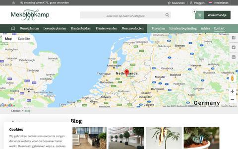 Screenshot of Blog plantenman.nl - Contact - Blog | Plantenman.nl | Plantenman.nl - captured Nov. 15, 2018