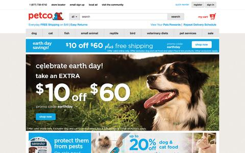 Pet Supplies, Pet Food, and Pet Products from petco.com