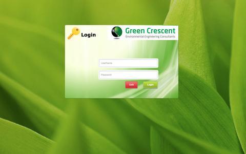 Screenshot of Login Page gceec.com - Login - captured Feb. 2, 2016