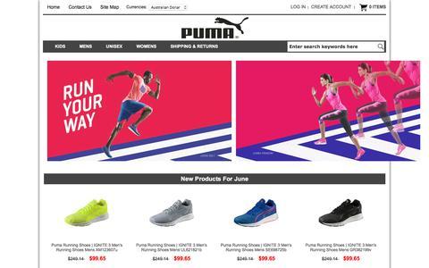 Screenshot of Home Page businessrevolutions.com.au - Puma Shoes Store | Cheap Puma Shoes Outlet | Puma Trainers Shoes - captured June 3, 2017