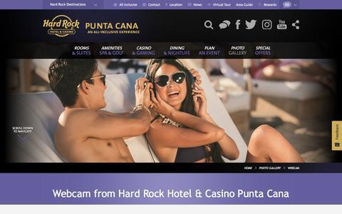 Webcam Hard Rock Hotel & Casino Punta Cana