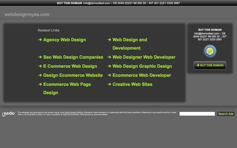 webdesignreyes.com - This website is for sale! - webdesignreyes Resources and Information.