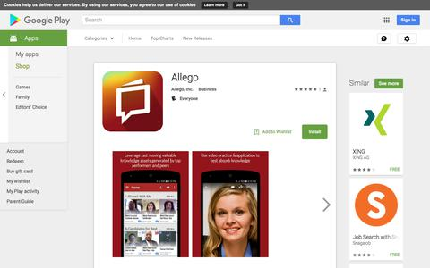Allego - Android Apps on Google Play