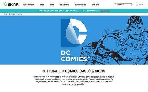 DC Comics Designs For Phone Cases, Laptop or Xbox   Skinit
