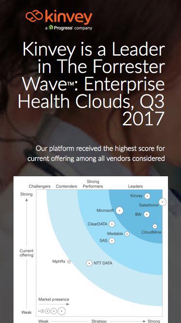HIPAA Compliant App Cloud | Mobile Backend as a Service | Kinvey
