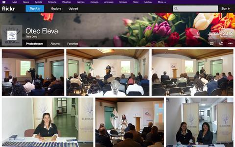 Screenshot of Flickr Page flickr.com - Flickr: Eleva Otec's Photostream - captured Oct. 25, 2014