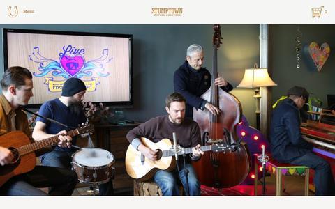 Screenshot of Blog stumptowncoffee.com - MyMusicRx | Stumptown Coffee Roasters Blog - captured Feb. 11, 2016