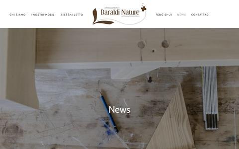Screenshot of Press Page arredamentibaraldi.it - News - Arredamenti Baraldi - captured Oct. 28, 2018